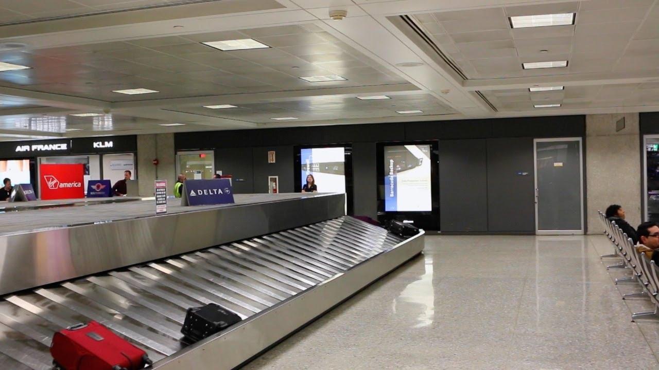 Baggage Handling System at American Airlines Terminal @ JFK Airport